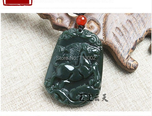 Handwork carven gray jade jadeite horse pendant sapphire amulet handwork carven gray jade jadeite horse pendant sapphire amulet bless zodiac talisman aloadofball Gallery