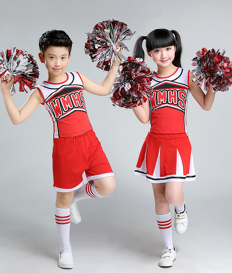 Children Lala Performance Clothing Dance Uniforms Aerobics Skirt School Students Baby Cheerleading Stage Costumes Girls Boys