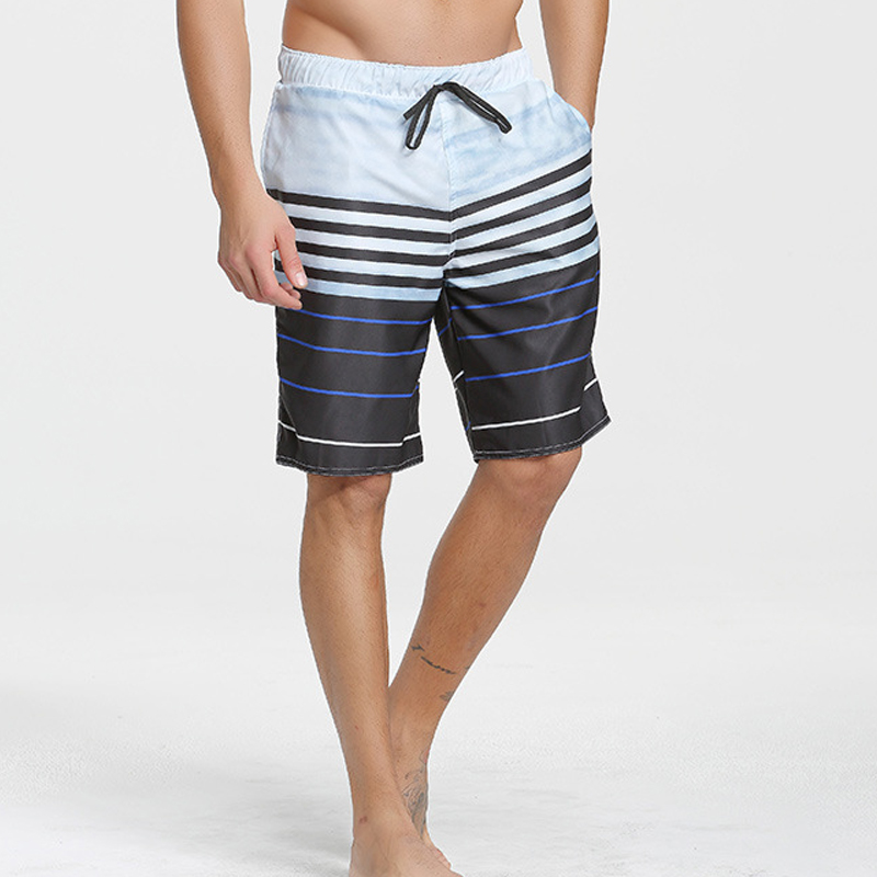 C182 New high quality summer leisure sports five points loose quick beach pants surf shorts Swimming pants men