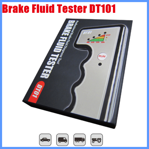 2013 New Arrival Car Care Tool Brake Fluid Tester DT101 Free Shipping  цены