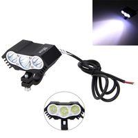 1pc 30W 3x XM L T6 LED 6500K 4000LM Motorcycle Spot Light Headlight Fog Driving Lamp