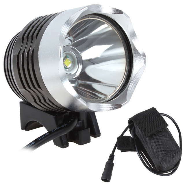 Hot Sale! Waterproof Cycling Light Super Bright Blike Light XM-L T6 1600Lm LED Bicycle Light Headlamp with Battery Pack