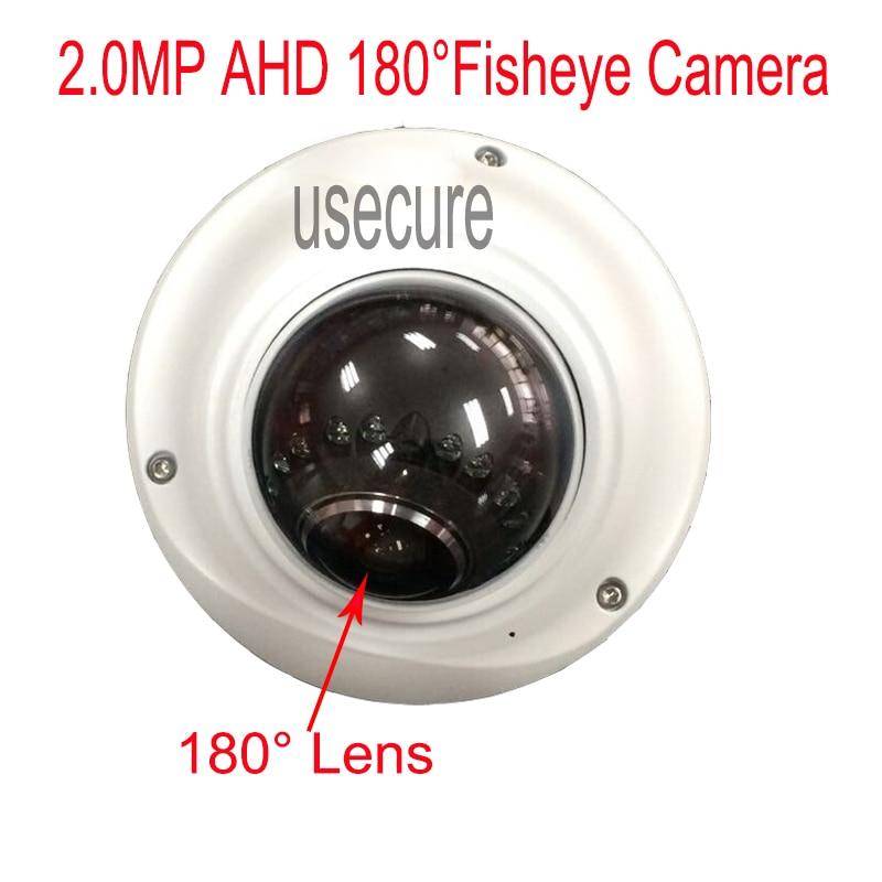ФОТО 1080P AHD Camera 180degree Fisheye CCTV indoor Dome Camera