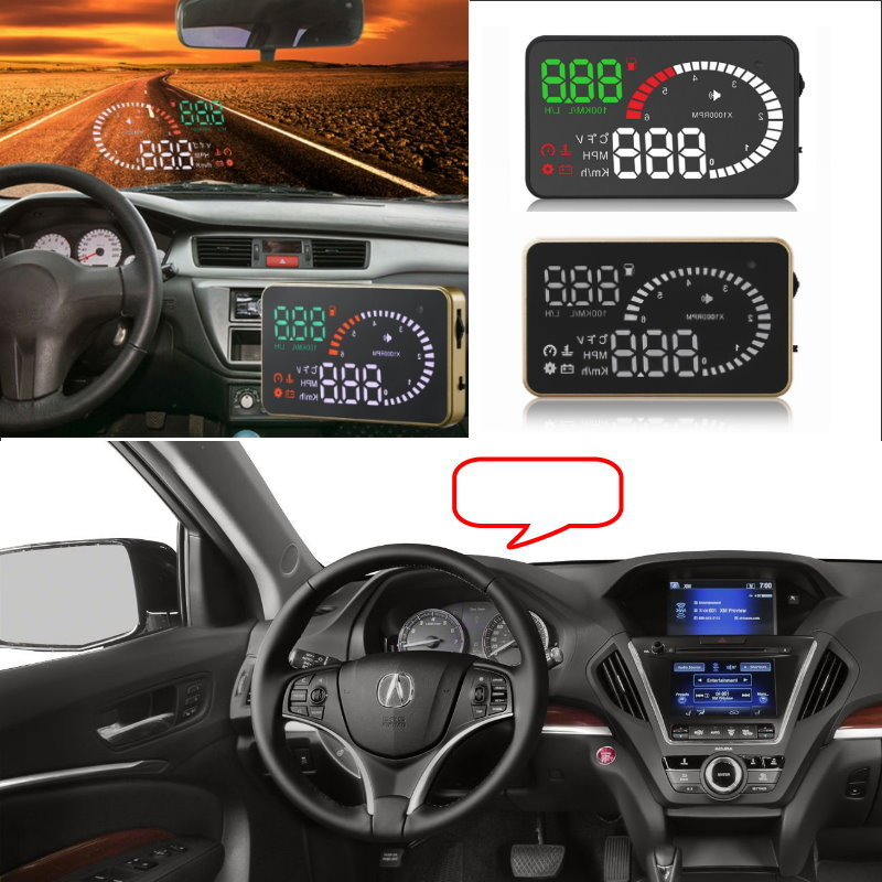 Liislee Car HUD Head Up Display For Acura MDX TSX RSX RDS