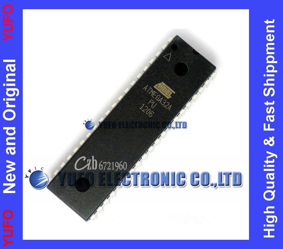 d817a614f2d41 Darmowa Wysyłka ATMEGA32A-PU ATMEGA32 AVR MCU 32 K FLASH 16 MHZ DIP-40 IC