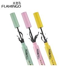 ФОТО flamingo 3pcs/set makeup brand lash thick curling mascara waterproof lengthening eyelashes rimel mascara 61212/61213/61214