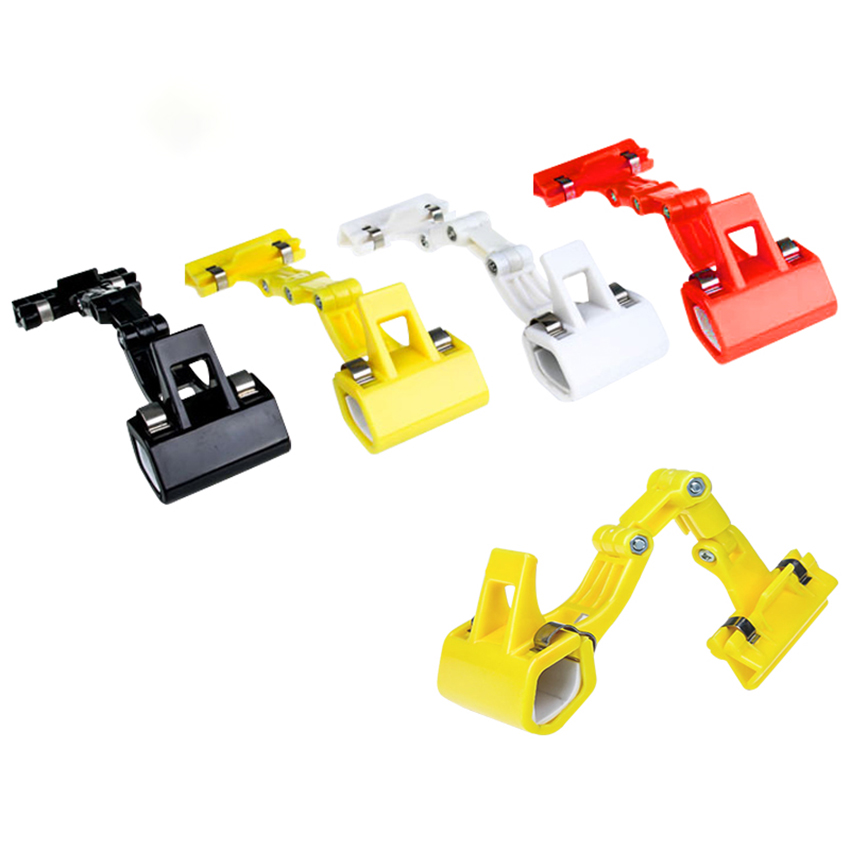 Double Head Rotatable Picture Copy Holder Painting Clip Clamp For Artist Easels Sketch Drawing Boards Bendable Sketchpad Clips