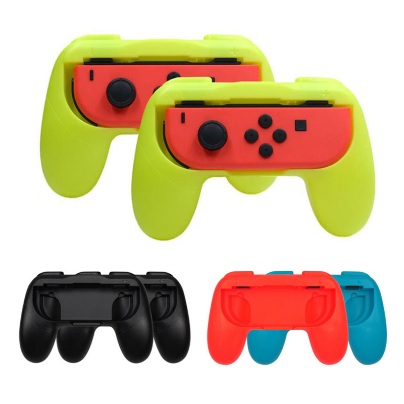 Left+Right Joycon Bracket Holder Handle Hand Grip Case for Nintend Switch NS Joy-Con Controller Gamepad HandGrip Stand Support(China)