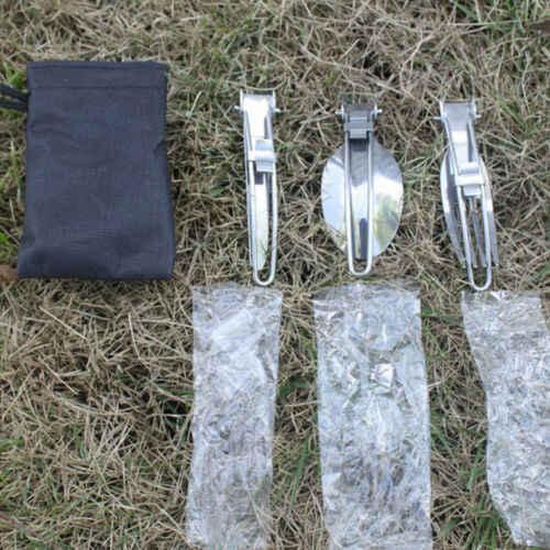 3 шт. набор для пикника на открытом воздухе складные столовые приборы палочки