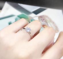 Aladdin Top qualité 18k or blanc 1/2ct Moissanite anneau rond coupe couleur D clarté FL Halo diamant fiançailles anneaux danniversaire
