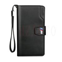 For Audi A3 A4 S3 Q3 Q5 Q7 PU Genuine Leather Wallet Man Women Car Driver