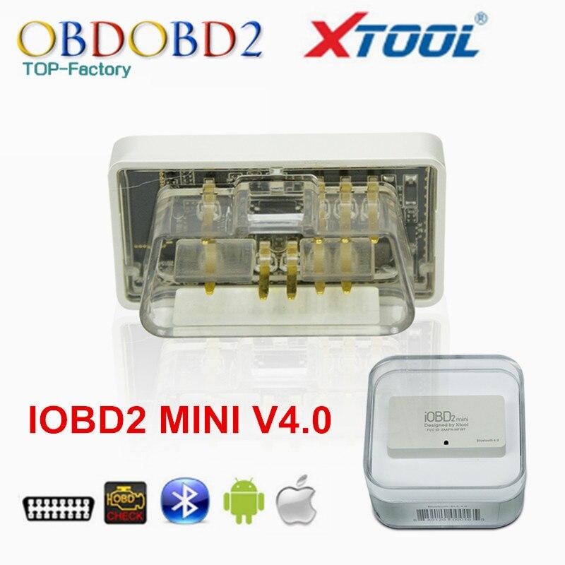 Prix pour Meilleur Qualité XTool IOBD2 MINI Bluetooth V4.0 Pour iOS/Android IOBD MINI Mieux Que ELM327 ELM 327 Livraison Gratuite