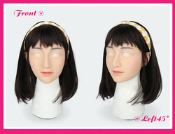 Crossdresser Silicone Artificial Realistic Skin Transgender Latex Sexy Cosplay for Male Shemale  Drag Queen