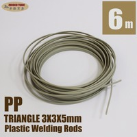 Plastic Welding Rods PP Polypropylene Car Bumpers Repairs Triangle 3x3x5mm 15m Long PP35 15
