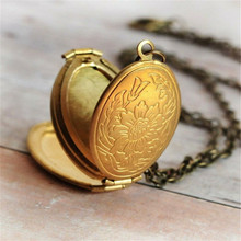 New Design necklace Fashion Expanding Photo Locket Necklace Pendant An