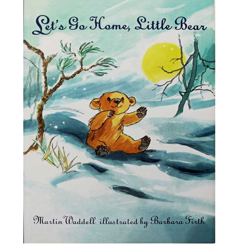 Let's Go Home, Little Bear By Martin Waddell Educational English Picture Book Learning Card Story Book Baby Kids Children Gifts