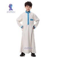 Muslim Islamic Clothing for Men Arabia Islamic Abaya Kaftan Jubba Islam Apparel Men Thobe Arab Middle East Teenage Boy Robe