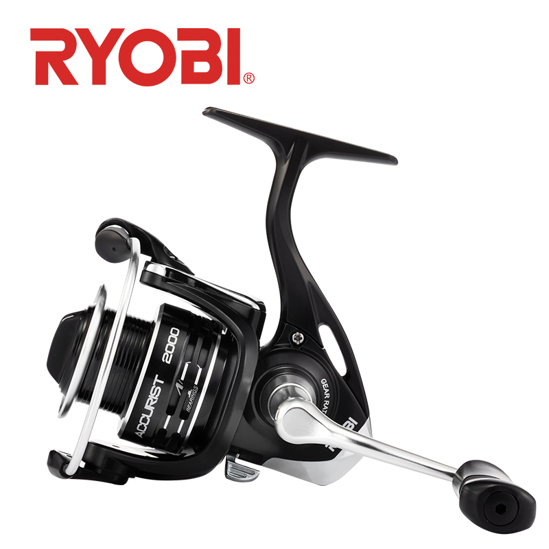 NEW Original RYOBI ACCURIST fishing reel 2000/3000/4000 4+1BB 3-5kg Max Drag spinning reels Designed in Japan reel fishing