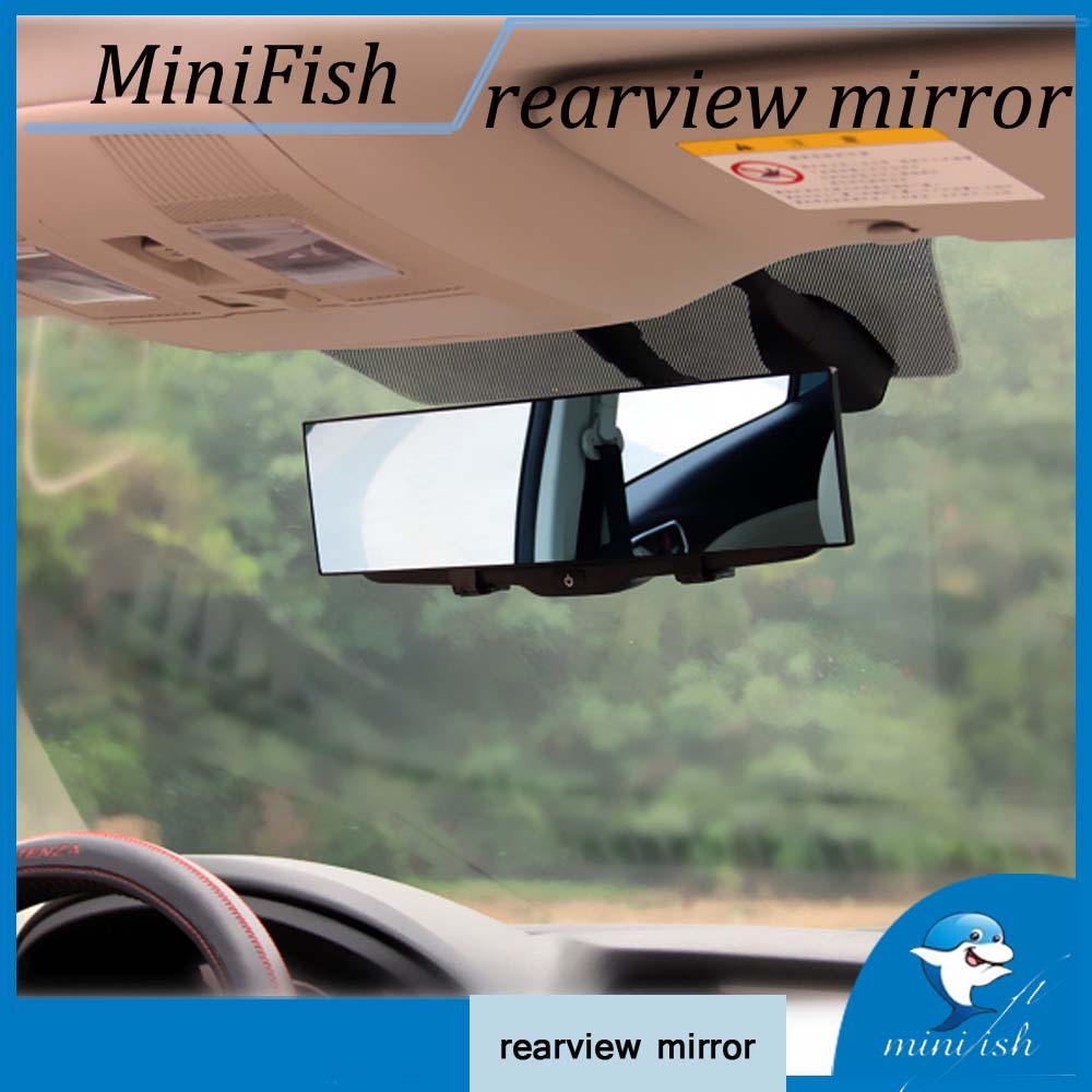 Large Vision Deluxe Anti-glare Proof Car Interior Rear View Mirror Angle Panoramic Anti-dazzling Car Interior Rearview Mirror цена
