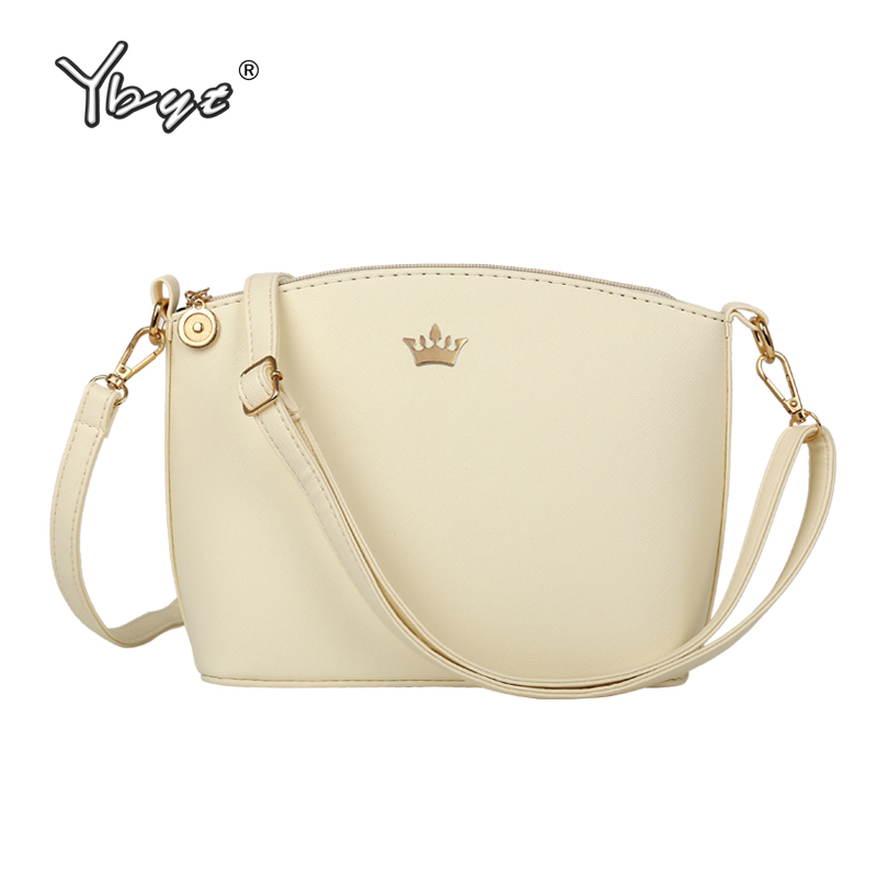YBYT Brand 2016 New Small Joker Leisure Imperial Crown Shell Package High Quality Women Shopping Handbags