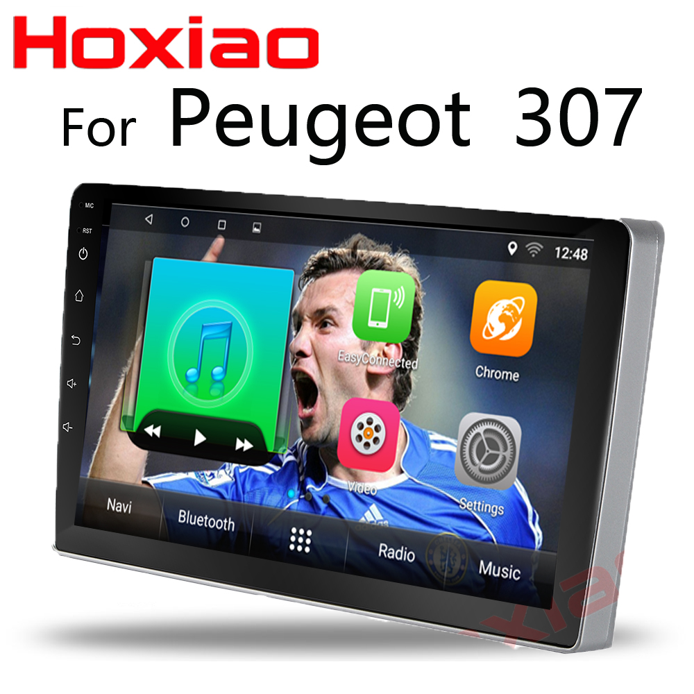 Android Car dvd player for Peugeot 307 2004 2012 gps navigation 2 din radio multimedia player