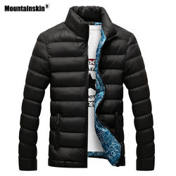 Mountainskin зимняя мужская куртка 2019 бренд повседневное мужские куртки и пальто толстая парка для мужчин верхняя одежда 6XL куртка мужской