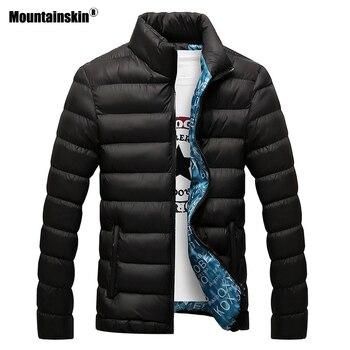 Mountainskin Winter Men Jacket 2020 Brand Casual Mens Jackets And Coats Thick Parka Men Outwear 6XL