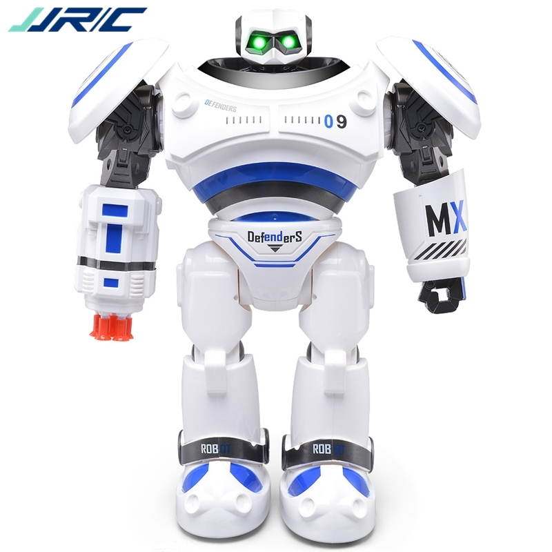 JJR/C JJRC R1 Programmable Defender Intelligent RC Remote Control Toy Dancing Robot for Kids Birthday Holiday Gift Present VS R2 mini drone rc helicopter quadrocopter headless model drons remote control toys for kids dron copter vs jjrc h36 rc drone hobbies