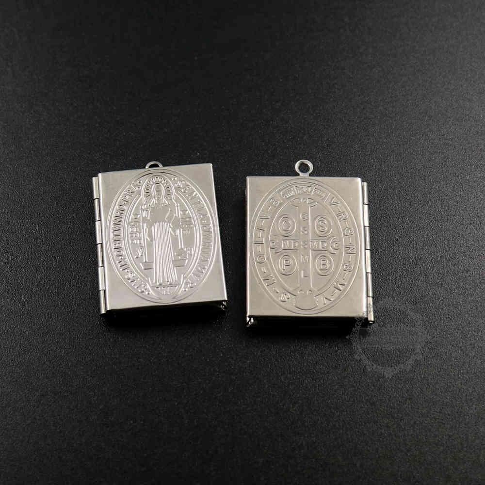 Aliexpress.com : Buy 27x34mm French St Benedict vintage Catholic Sentia Mvniamvr Medal of