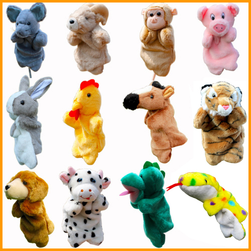 Large plush puppet 12 zodiac set/dog sheep cow s...
