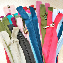 10 PCS/LOT LONG Nylon Zipper FASTENER Open End JACKET ZIPPERS REPLACE BEST SAVE ONLINE Sewing Accessories