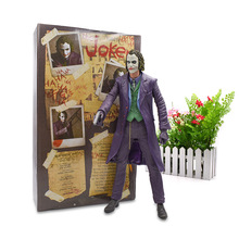 45 cm NECA The Joker Reel Toys Action Figure PVC Figure Collection Model Doll Hot Toy Christmas Gift For Children цена