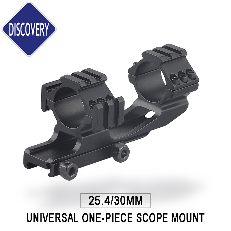 Tactical Rifle Scope Mount Accessories 25.4mm 30mm Hunting Mount Rings Tri-rail Three Side 20mm Picatinny Rail Weaver
