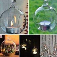 Candelabro colgante de cristal para decoración de hogar, boda, decoración para cenas de fiesta, decoración del hogar, accesorios, drop shopping