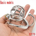 Latest Design Short and Solitary Extreme Confinement Chastity Cage Basic models Size Male Chastity Device