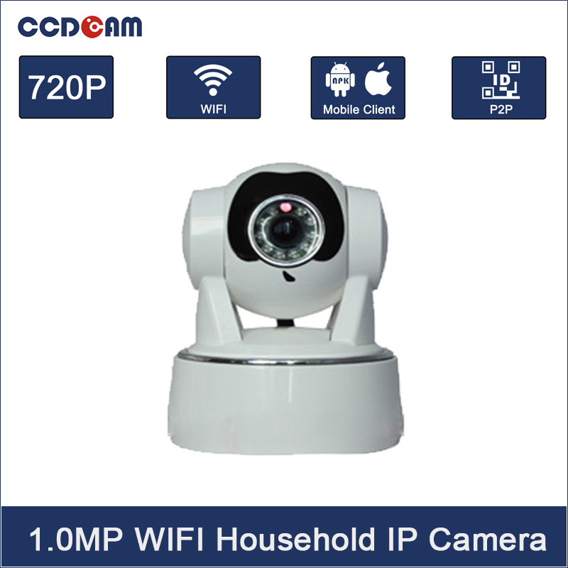 CCDCAM Free Ship P2P IP Camera 720P HD Wifi Wireless Baby Monitor PTZ Security Camera ONVIF Cloud Night Vision Micro SD Card lis ow junkrat game model toys for animation game collection miniature figurine 23cm big action figure