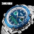 2016 Sports Watches Men Luxury Brand Quartz Men Digital LED Clock Male Full Steel Army Military Wrist Watch relogio masculino