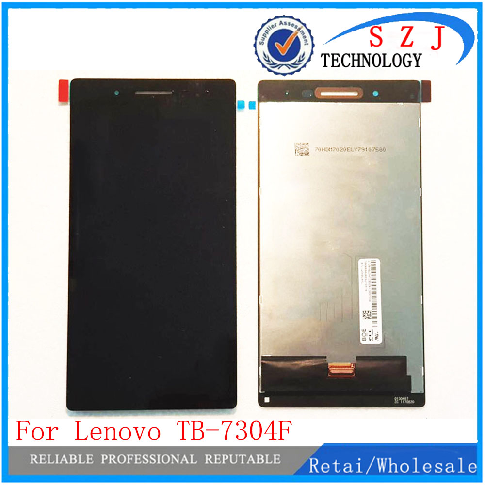 NEW 7 For Lenovo IdeaTab 4 TB-7304X LCD Tab 4 TB-7304F TB 7304X TB 7304F Display and Touch Screen Digitizer Assembly new 7 inch replacement lcd display screen for texet tb 720hd tb 730hd tb 740hd tablet pc free shipping