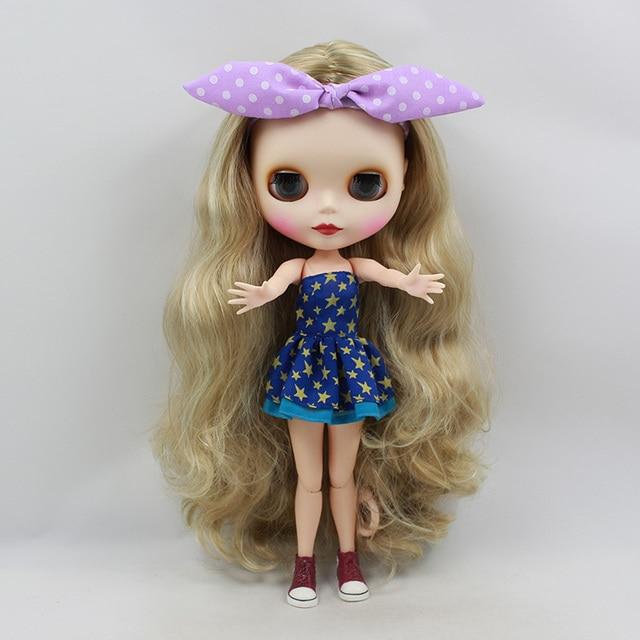 Free shipping cost Nude Blyth dolls ,short hair doll