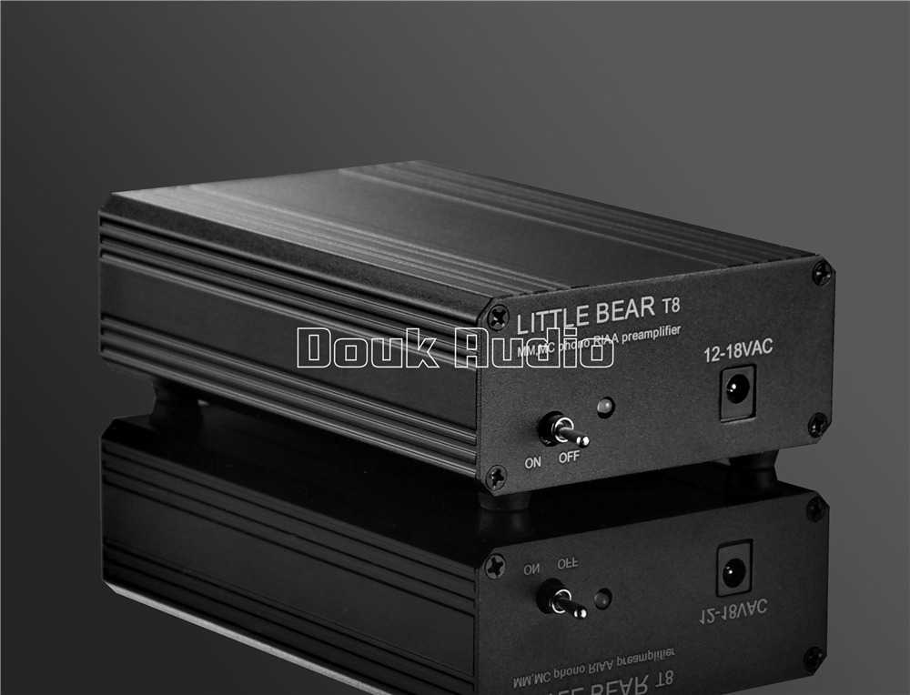 2018 Latest Nobsound Little Bear T8 Phono RIAA Preamplifier MM&MC Turntable HiFi Stereo Audio Pre-Amp music hall latest little bear t11 6n2 12ax7 vacuum tube phono turntable preamp hifi pre amp mm riaa phonograph preamplifier