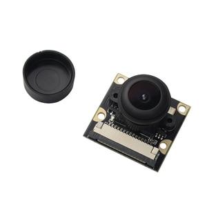Image 2 - Raspberry Pi 220 градусов, модуль камеры «рыбий глаз», объектив с регулируемым фокусом OV5647, широкоугольная камера для Raspberry Pi 3 Model B/B +
