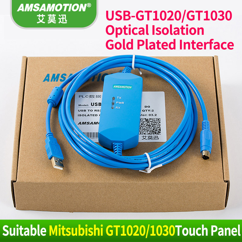 Suitable Mitsubishi GT1020/GT1030 Touch Pannel Programming Cable Download Cable USB-GT1020 GT1030 day for touch screen programming tp u2 cua usb cable