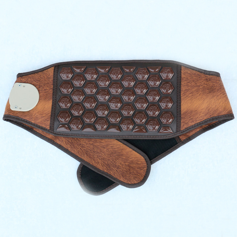 Germanium Stone Tourmaline&Jade Heating Stone Electronic Heating Belt For Sale hot sale jade electric heating waist belt for sale