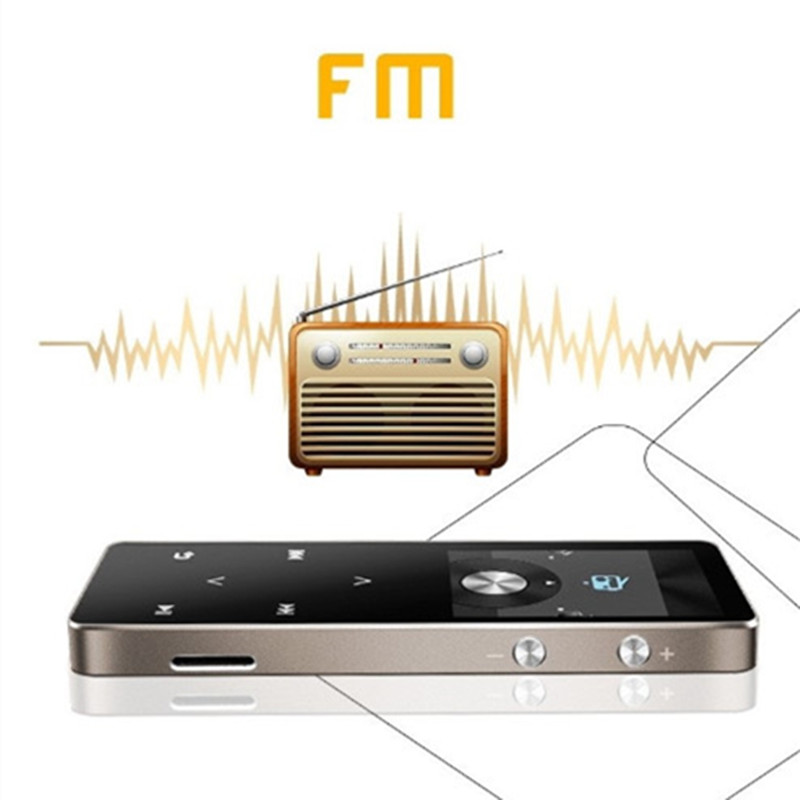 Predvajalnik GERUIDA MP4 Bluetooth Radio HIFI MP4 8GB zaslon na dotik - Prenosni avdio in video - Fotografija 3