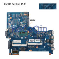 KoCoQin Laptop motherboard For HP Pavilion 15-R 250 G3 Core I3 Mainboard ZS050 LA-A992P 776082-001 776082-501 CPU SR1EK