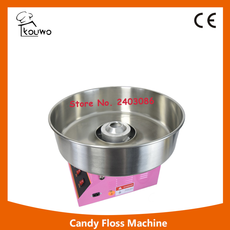 KW-YD03 high quality  electric pink cotton candy floss maker machine with transparent cover  for commercial use edtid new high quality small commercial ice machine household ice machine tea milk shop