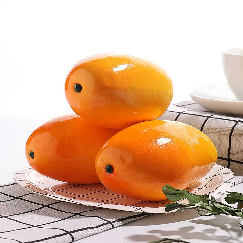 11 Gaya Plastik Manusia Hidup Simulasi Buatan Buah Orange Pisang Apple Manggis Dapur Fotografi Alat Peraga Mainan Anak