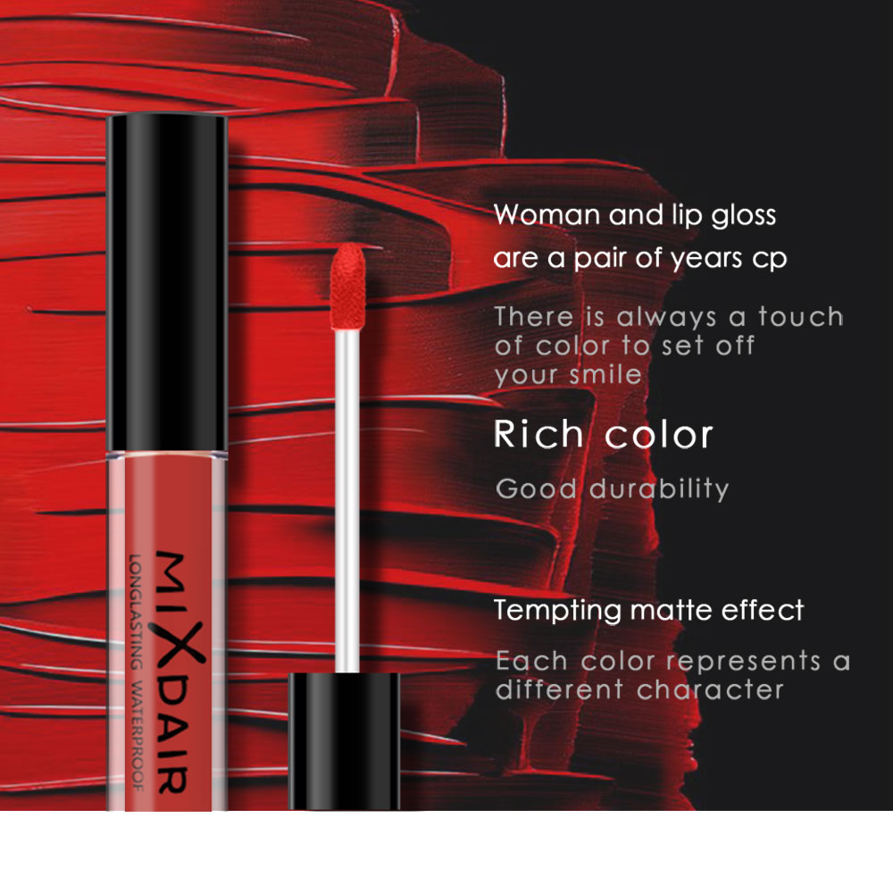 Swim-Proof Alluring Lips Matte Lip Gloss