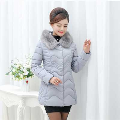 Large Fox Fur Collar Mother Clothing Winter Coat Women Thick White Duck Down Plus Size 3XL Jacket 2016 New Down Parka A4290