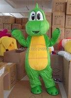 Profesyonel Yoshi Dinosaur Super Mario Maskot Kostüm Ücretsiz Kargo
